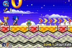 Sonic Advance 3 Screenshot 1