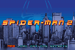 Spider-Man 2 Title Screen