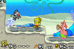 SpongeBob SquarePants - Battle for Bikini Bottom Screenshot 2