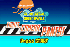 SpongeBob SquarePants - Lights, Camera, Pants!
