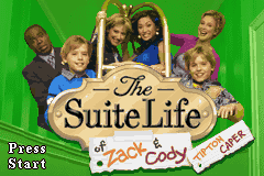 The Suite Life of Zack & Cody - Tipton Caper Title Screen