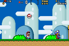 Super Mario Advance 2 - Color Restoration