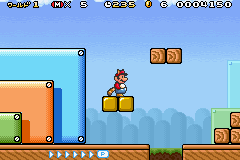 Super Mario Advance 4 Screenshot 1