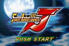 Super Robot Taisen J (english translation) Title Screen
