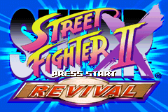 Super Street Fighter II X - Revival Title Screen