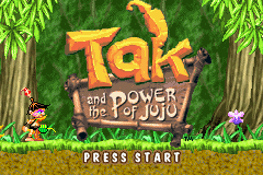 Tak and the Power of Juju Title Screen