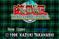 Yu-Gi-Oh! - The Eternal Duelist Soul Title Screen