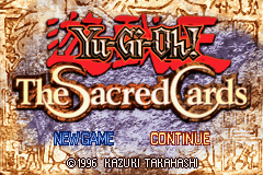 Yu-Gi-Oh! - The Sacred Cards Title Screen