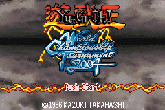 Yu-Gi-Oh! - World Championship Tournament 2004 Title Screen