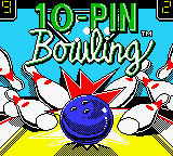 10 Pin Bowling Title Screen