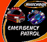 Matchbox Emergency Patrol Title Screen