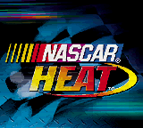 NASCAR Heat Title Screen