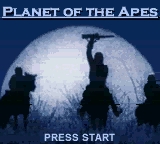 Planet of the Apes Title Screen