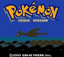 Pokemon Silver Title Screen