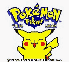 Pokemon Yellow Title Screen