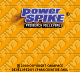 Power Spike Title Screen