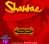 Play <b>Shantae GBA Color Hack</b> Online