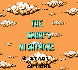 Smurfs - Nightmare Title Screen