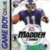 Madden NFL 2002 Box Art Front