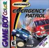 Matchbox Emergency Patrol Box Art Front
