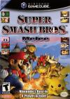 Super Smash Bros. Melee Box Art Front