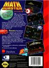 Math Blaster - Episode 1 Box Art Back
