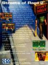 Streets of Rage 2 Box Art Back
