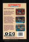 Streets of Rage Box Art Back