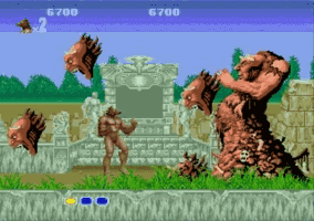 Altered Beast Screenshot 1