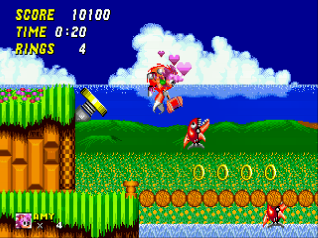 Play Amy Rose in Sonic the Hedgehog 2 online - Sega Genesis game rom