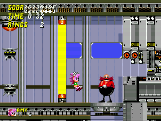 Amy Rose in Sonic the Hedgehog 2 Screenshot 3