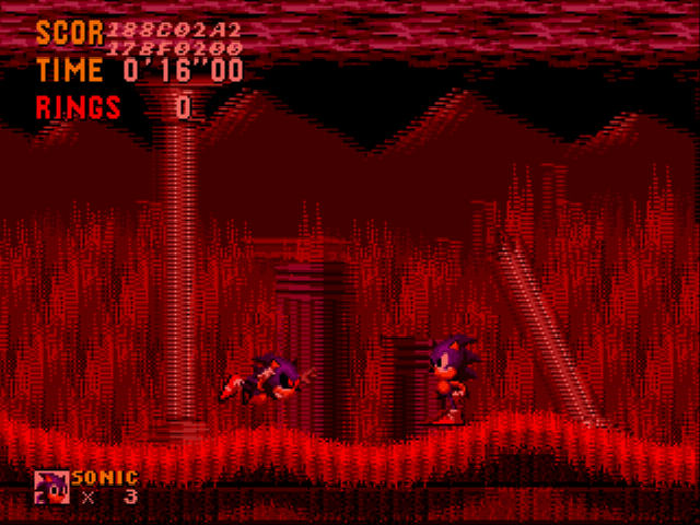 An Ordinary Sonic ROM Hack Screenshot 1