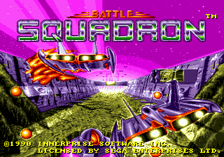 Battle Squadron Title Screen
