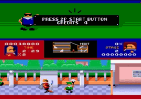 Bonanza Brothers Screenshot 2