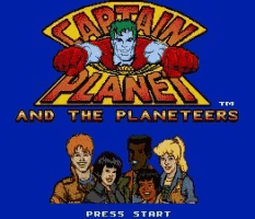 Captain Planet & the Planeteers Title Screen