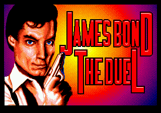 James Bond 007 - The Duel Title Screen
