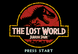 The Lost World - Jurassic Park Title Screen