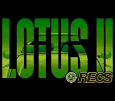 Lotus II - R.E.C.S. Title Screen