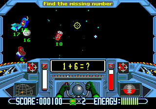 Math Blaster - Episode 1 Screenshot 1