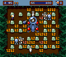 Mega Bomberman Screenshot 1