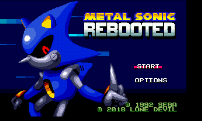 Play <b>Metal Sonic Rebooted</b> Online