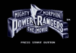 Mighty Morphin Power Rangers - The Movie Title Screen