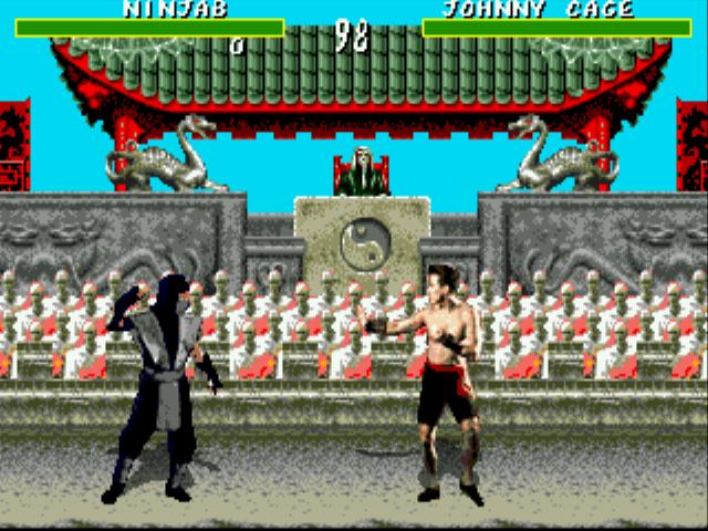 Mortal Kombat 6 28 People hack (GEN) Game - Sega Genesis