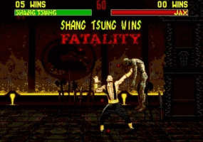 Mortal Kombat II Screenshot 1