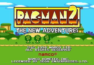 Pac-Man 2 - The New Adventures