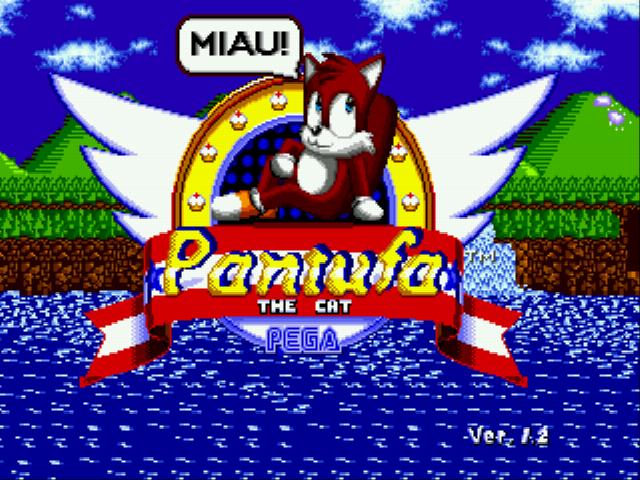 Hacked play pantufa the cat sonic 1 hack online gen rom hack of