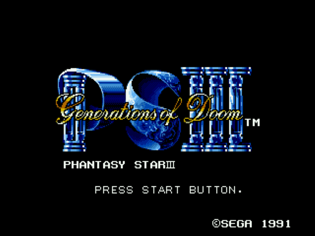 Play <b>Phantasy Star III EasyType</b> Online