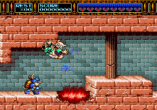 Rocket Knight Adventures Screenshot 2