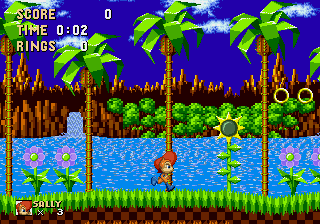 Sally Acorn in Sonic the Hedgehog Screenshot 1