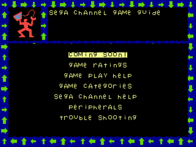 Sega Channel Game Guide